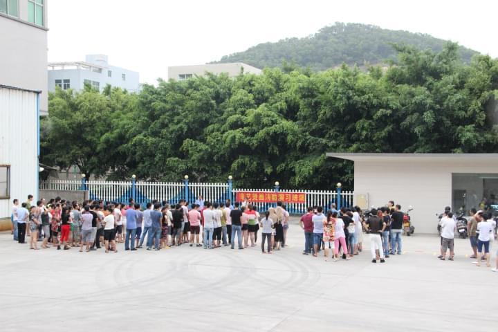 青艺-2015公司消防演习活动