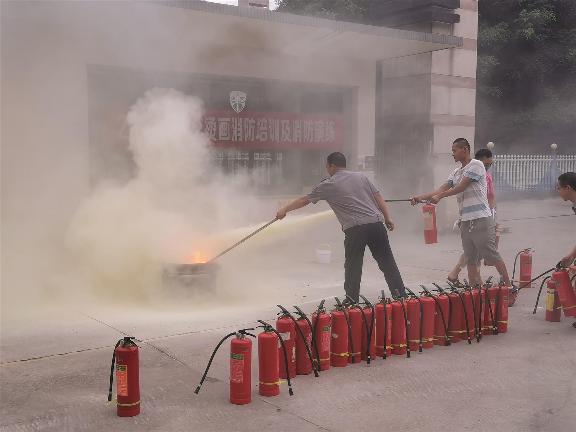 青艺-2020年消防演练现场照